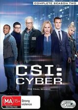 Csi: Cyber Season 2 NEW R4 DVD