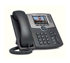 CISCO SPA525G2 VoIP SIP IP Phone Color Bluetooth Wifi 5 Lines SPA525 with POWER