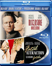 DISCLOSURE - FATAL ATTRACTION - BLU-RAY DOUBLE ATTRACTION - STILL LIKE NEW