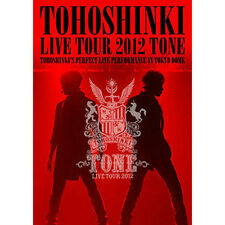 Korea Music Tohoshinki - Live Tour 2012 [Tone] (2 Disc) (DVDMU177T)