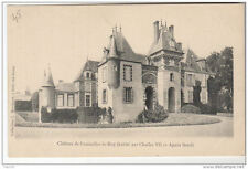45 Chateau de COURCELLES LE ROY (habite par Charles VII et Agnes Sorel) - Collec
