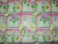 NEW Daisy Kingdom Donna Dewberry Garden Party Fabric 100% Cotton Sold By 1/2Yard