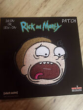 Rick And Morty Morty Patch Adult Swim Funny Cartoon