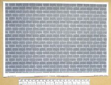 """G gauge (1:24 scale) """" Dressed block stone """" -  paper- A4 sheet"""