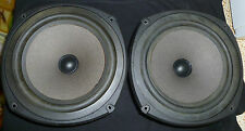 """Vintage Pair of Celestion DL6 Replacement Woofer Drivers 8.5"""", ENGLAND"""