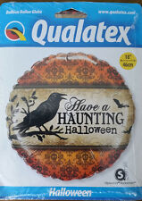 Brand New Qualatex Halloween Foil 18 Inch Balloon
