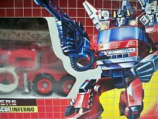 D1052411 INFERNO TRANSFORMERS G1 BUBBLE MIB MINT IN BOX STYLE 100% COMPLETE