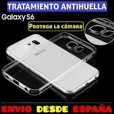 FUNDA TPU DE GEL SILICONA TRANSPARENTE PARA SAMSUNG GALAXY S6 G920F CARCASA