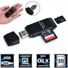 New 5Gbps Super Speed USB 3.0 Micro SD/SDXC TF Card Reader Adapter For PC Tablet