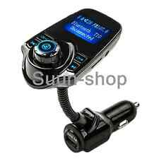 LCD Wireless Bluetooth FM Transmitter USB MP3 Player Modulator for Volkswagen