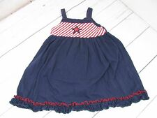 """Sophie Rose"" Girls Red, White, and Blue Jumper Size 3T - A858"