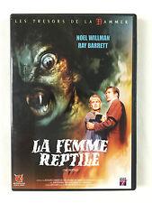 DVD La Femme reptile De John Gilling / Les Tresors De La Hammer