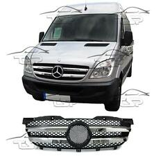 FRONT CHROME GRILL FOR MERCEDES W906 SPRINTER 1996 SPOILER BODY KIT NEW GRIGLIA