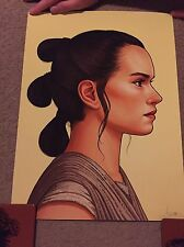 Mike Mitchell Mondo Star Wars Force Awakens Rey Poster Print Signed And Numbered