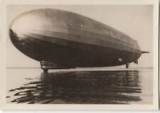 N°113 LZ 127 splashdown Bodensee Lake ZEPPELIN Dirigible AIRSHIP CARD IMAGE 30s