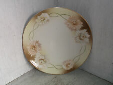 "R S Silesia Tillowitz Asters Plate 8"" Vintage Germany Flowrs Floral"