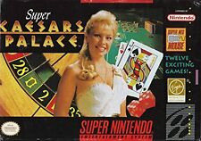 Super Caesar's Palace (Super Nintendo)Video Game -  - LOOSE