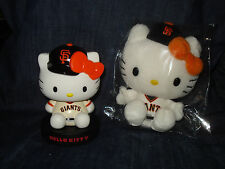 San Francisco Giants Hello Kitty Bobblehead & Plush Stuffed Doll SGA 6-8-14 SF
