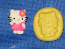 Hello Kitty Push Mold Food Safe Silicone #844 Cake Chocolate Resin Clay