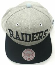 NFL Oakland Raiders Mitchell and Ness Vintage Wool Snapback Cap Hat M&N NEW!!!