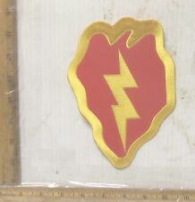 US Army 25th Infantry Embroidered Back Patch