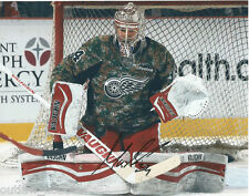 Detroit Red Wings Petr Mrazek Autographed Signed 8x10 Photo COA A