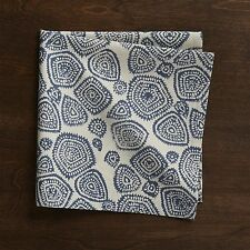 Crate & and Barrel DEV CLOTH NAPKINS x Set of 4 -NWOT! Handcrafted/Screenprinted