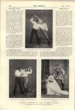 1900 Rupert Of Hentzau At St James's Theatre Julie Opp