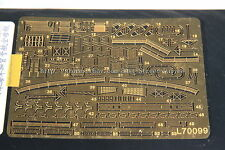 Ship Vessels Detail Update PE 1/700 099 IJN aircraft carrier Kaga Fujimi Kit