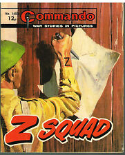 COMMANDO MAGAZINE WAR STORIES IN PICTURES - No. 1403 'Z Squad'