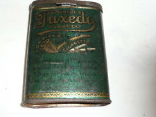 COLLECTIBLE PATTERSON'S TUXEDO TOBACCO TIN CAN--#DP