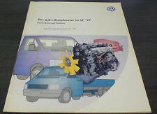 VW LT 2,8l Diesel Motor Generation 2 Selbststudienprogramm  SSP 197   08/1997