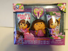 Dora Grat Shampoo and Body Wash  with tub hook for Scrubby *** New In Box***