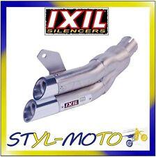 SILENZIATORE TERMINALE DI SCARICO IXIL L2X (PC46) HONDA CB 600 F/S HORNET 2008