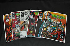 Spawn - Lot of 7 -Including #9 First Angela -  1993 (Grade 8.0 / 9.4)WH