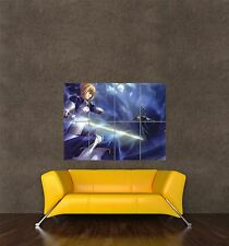 POSTER PRINT MANGA ANIME CARTOON CHARACTER FATE ZERO SABER JAPAN COOL SEB854