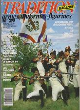 TRADITION N° 29 XASQUE GARDE DU CORP / 1e EMPIRE ; GRENADIER SAXON /ARME BLANCHE