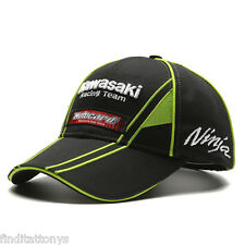 NEW 3D KAWASAKI Ninja Racing Moto GP Motorcycle Motorbike Baseball Cap Hat