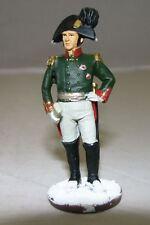 Eaglemoss Zinnfigur metal Soldat Napoleonische Kriege General Stroganov 6 cm E1