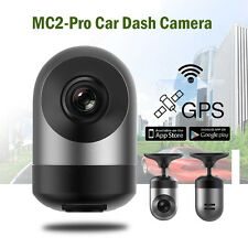 360° Rotatable Capacitor HD 1080P Car WIFI Dash Camera GPS Wireless Vehicle Mini