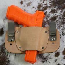 Sig Sauer P938 Inside the Waistband / IWB Leather Holster No Laser Made in USA