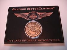 HARLEY DAVIDSON 110TH 110 ANNIVERSARY WINGED COLLECTORS COIN EMPLOYEES RARE NEW