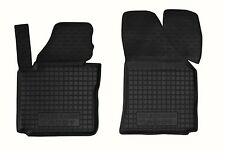 VW CADDY 2004-2014 FRONT Rubber Car Floor Mats All Weather Alfombras Goma