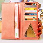 Fashion Women Lady Long Leather Clutch Wallet Card Case Holder Purse Handbag Hot