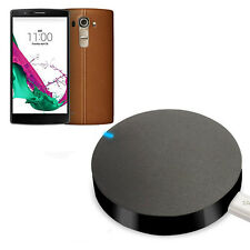 Qi Wireless Charger Charging Pad For LG G4 F500 H815 H815 Black Round Chargers