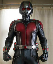 Ant Man Paul Rudd red 100% real leather jacket Costume Halloween