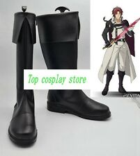 Seraph of the end Crowley Eusford cos Cosplay Shoes Boots shoe boot  #JZ588