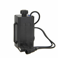 USB&DC Ports 8.4V Bicycle Bike Light 18650 Battery Holder Case Cell Charger Bank