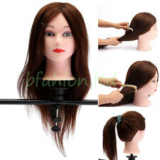 Mannequin Manikin Head Holder Stand Dummy Wig Clamp Table Canvas Cosmetology NEW