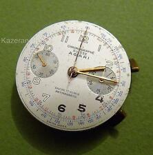 Vintage c1950 AGARI Wristwatch 17 Jewel Multi Dial Chronograph Movement